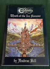 Enchantica hardback book - Wrath Of The Ice Sorcerer - by Andrew Bill
