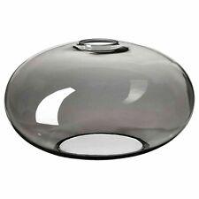 """Pendant Lamp Shade GLASS Modern Dark Tint 10"""" Diameter IKEA GRUNDAMNE *NEW*"""