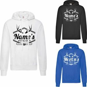 Personalised Men's Stag Do Hoodie, Various Sizes and Colours Available