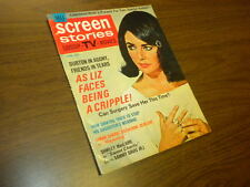 SCREEN STORIES - 1969 April - vintage movie/tv magazine - COMPLETE!