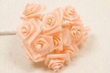 72 petites roses pêche. Décoration de mariage