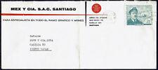 3275 CHILE THEMATIC COVER 1968 SHIP SHACKLETON RESCUE ANTARCTIC SGO - P. VARAS
