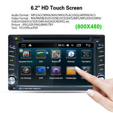 6.2'' 2DIN GPS Navigatore HD Auto DVD Radio Player Android 6.0 Bluetooth 3G WIFI
