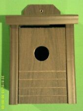 New,Blue Bird House, Heavy (Composite Material) (That Quality House You Want)