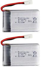 3.7V 500mAh 25C Lipo Battery For Syma X5 X5C RC Quad Quadcopter Spare Parts 2 pc