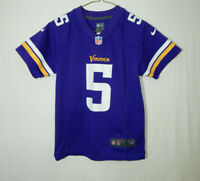 Teddy Bridgewater Minnesota Vikings NFL Football Jersey Boys Nike YOUTH SMALL 8