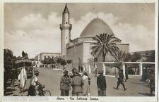 LIBIA: HOMS - Via Settimio Severo -Miliziani italiani
