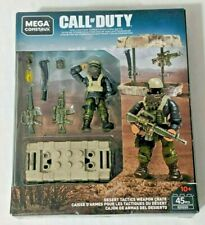 CALL OF DUTY DESERT WEAPON CRATE 45PCS GDG50 - MEGA CONSTRUX  Q2/2 C51/1 Z18/2