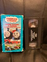 Thomas & Friends James Learns a Lesson Thomas The Tank Engine & Friends VHS