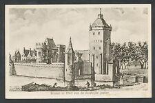 Vianen in 1545 van de landzijde gezien