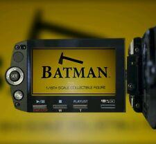 1/6 Hot Toys Batman Triangle Shield DX09 **US Seller**