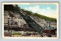 Pittsburg PA, Monongahela Incline, Vintage Pennsylvania Postcard Z23