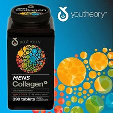 youtheory™ Mens Collagen Advanced Formula, 390 Tablets