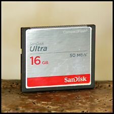 FAST Sandisk Ultra 16GB 50MBs Compact Flash Memory Card suit Canon Nikon D SLR
