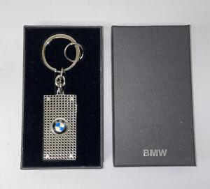 BMW Genuine Perforated Key Ring with BMW Roundel Logo 80232149937