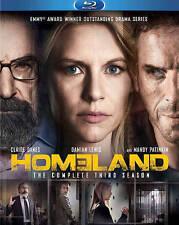 Homeland: The Complete Third Season (Blu-ray Disc, 2014, 3-Disc Set) Brand New