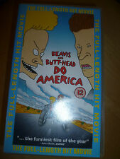 Beavis & Butt-Head Do America VHS VIDEO TAPE *524