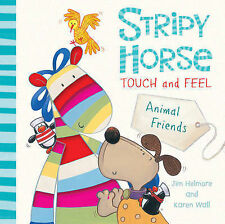 Touch and Feel: Animal Friends (Stripy Horse)-ExLibrary