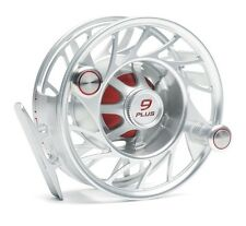 Hatch 9 Plus Finatic Reel NEW in Box ~ Mid Arbor ~ Clear / Red Closeout