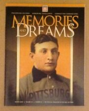 National baseball Hall Of Fame Memories Dreams Winter 2009 Magazine Honus Wagner