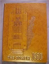High School Yearbook 1960 Whitefish Bay Wis The Tower