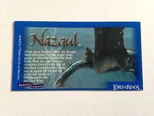 Lord Of The Rings - Bassett / Barratt Trading Cards - Nazgul - Cigarette Cards
