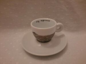 Illy Art Collection Espresso Cup And Saucer IPA Italy