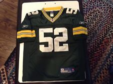 GREEN BAY PACKERS Clay Matthews #52 Sewn Reebok Onfield Jersey SZ 48 - Cool