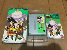 DragonBall Z Super Butouden 3 Japan Super Famicom SNES BOX and Manual