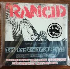 "Rancid - Let the Dominoes Fall 8 x 7"" Colored Vinyl 45 Singles Set Punk Rock"