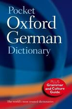 Pocket Oxford German Dictionary  Paperback