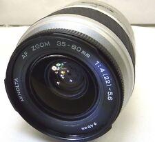 Minolta 35-80mm f4-5.6 Lens Maxxum AF inop - Parts or Repair AS IS