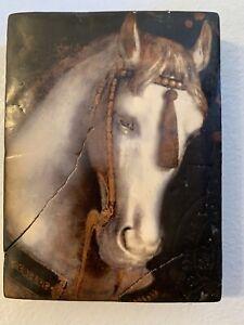 Sid Dickens memory tile retired T104 'White Horse'