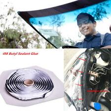 13Ft Car Windshield Headlight Reseal Retrofit Butyl Rubber Sealant Glue Black