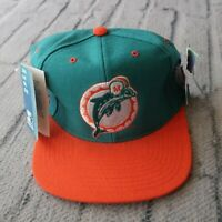 Vintage New Miami Dolphins Hat by Starter 90s Cap Fitted 7