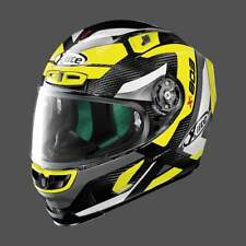 X-Lite X-803 Ultra Carbon MASTERY Yellow/ Fluo Carbon  Race Motorcycle Helmet WQ