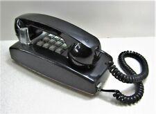 Cortelco 255400-VBA-20M Push Button Wall Telephone Black