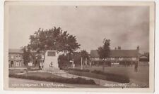 War Memorial Brightlingsea Essex RP Postcard, B716