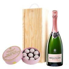 Bollinger Rose & Pink Charbonnel Chocolates Box