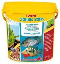 (EUR 3,85 / L) Sera Cichlid Sticks Zierfisch Futter 10 Liter