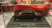 "DIE CAST "" FIAT 125 SPECIAL - 1968 "" + TECA RIGIDA BOX 2 SCALA 1/43"