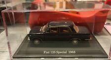 "DIE CAST "" FIAT 125 SPECIAL - 1968 "" + TECA RIGIDA BOX 2 SCALA 1/43"