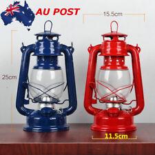 Vintage Retro Outdoor Oil Lantern Kerosene Paraffin Hurricane Lamp Light Camping