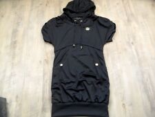 ADIDAS Respect me Missy Elliot stylishes Hoodie-Kleid schwarz Gr. 12 TOP 1017