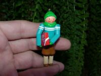 SON - 1989 Hallmark Christmas ornament - boy - child figurine