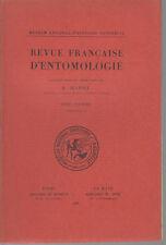 JEANNEL R. / Revue française d'entomologie - Tome VI - Fascicule 2 - 1939