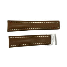 Breitling Brown Leather Strap 24 mm 444X-A20D.1-AU