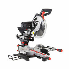 "SIP 12"" 305mm Belt Driven Double Bevel Compound Sliding Mitre Saw & Laser 240v"