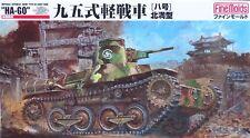"FINE MOLDS® FM18 IJA Light Tank Type 95 Ha-Go ""North Manchuria Verion"" in 1:35"