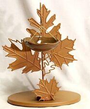 Yankee Candle Leaf Fall Tart or Melt Warmer Metal Hanging Auburn Foliage  - New